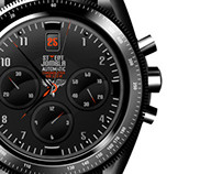 Chronograph concept in black