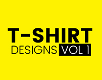 T-shirt designs collection -Volume1