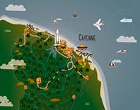 La Guyane Illustrée