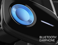 Bluetooth Earphone Concept