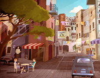 Animation | Greetings from Napoli | Short