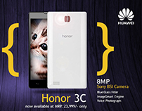 Huawei Social media designs