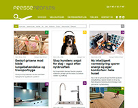 Presseprofilen - Web design for Wordpress