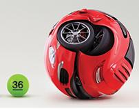 Print - Powerball Lottery - 'Powerballs'