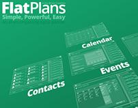FlatPlans App Design