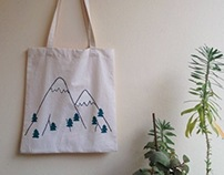 Mountain Air Tote Bag