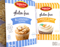 Gluten Free Nation Package Design