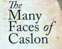 Caslon Typography