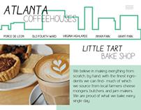 Coffeehouses Web Design