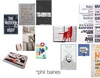Phil Baines Branding