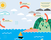Illustrative Educational Book: The Water Cycle