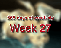 365 days of creativity/art - Week 27