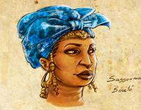 Queen  Sassouma Bérété