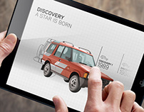 Land Rover - Celebrating An Icon CGI