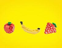 Lego Fruits