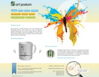 "Design for ""Art Prelum"""