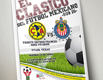 Poster game America vs Chivas Sub 20