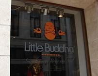 Little Buddha Identity and Advertisements