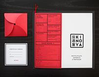 Kinoya - Brand identity