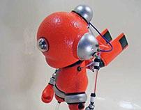 Slomunny v4 – Slobot vs. Kidrobot Munny