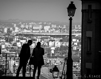 Paris Black & White People