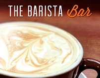 Barista Bar Mock Ad