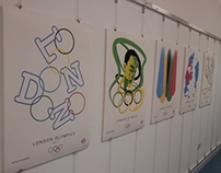 A Series of Poster for the London Olympics 2012