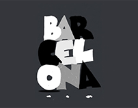 Barcelona - Animated poster