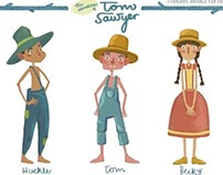 VISUAL DEVELOPMENT: The Adventures of Tom Sawyer