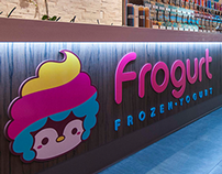 Frogurt Frozen Yogurt