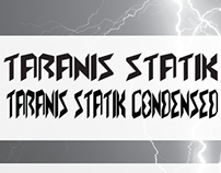 Taranis Statik Typography