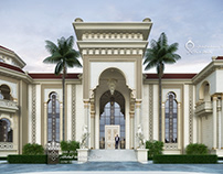 Palace with Andalusian touches