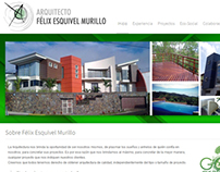 Architect Felix Esquivel Murillo / Website
