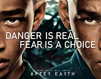 """Matte Paint at """"After Earth"""""""