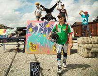Redbull urban photo shoot with Diego Ordoñez