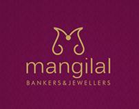 Mangilal Bankers Logo Branding