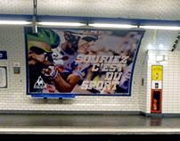 Le Coq Sportif campagne d'affichage