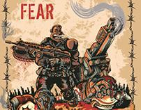 Gears of War Motivational Poster