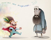 Never lose your imagination...