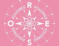 Rosepoudrée