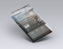 +weather App Concept