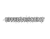 Type Metaphor - Effervescent