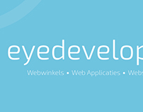 Logo and Visits EyeDevelop
