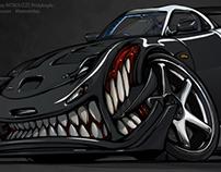Crazy RX-7 BeastedUp!!!