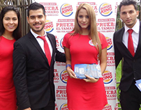 ¡Cubrimiento Burger King! Community Manager.