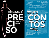 Two book covers - Conto Contos & Cortar é Preciso