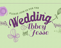 Party Invitations / Showers / Wedding