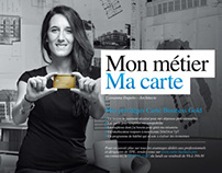 """Mon métier, ma carte"" American Express Business Gold"
