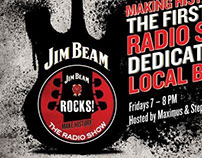 Jim Beam Rocks | Radio Show Campaign