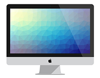 Polygonal Colorful Backgrounds